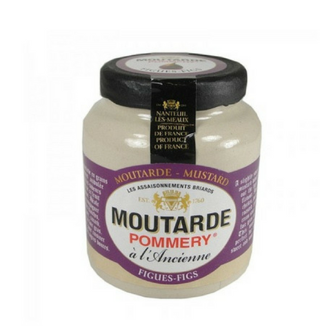 French Mustard with Fig by Pommery 3.5 oz-Pommery-Le Tablier Bleu | Online French Supermaket