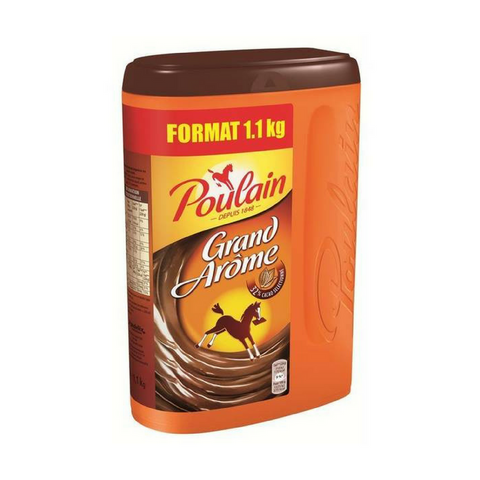 Poulain Extra Large Grand Arome French Hot Chocolate Mix 28.2 oz. (800g)-Poulain-Le Tablier Bleu | Online French Supermaket