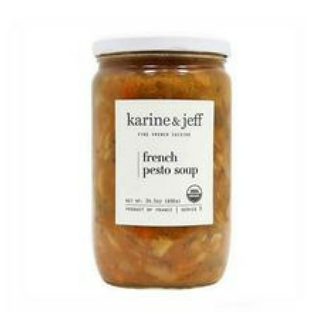Karine & Jeff Organic French Pesto Soup 24.3 oz. (690 g) Best Price-Karine & Jeff-Le Tablier Bleu | Online French Supermaket