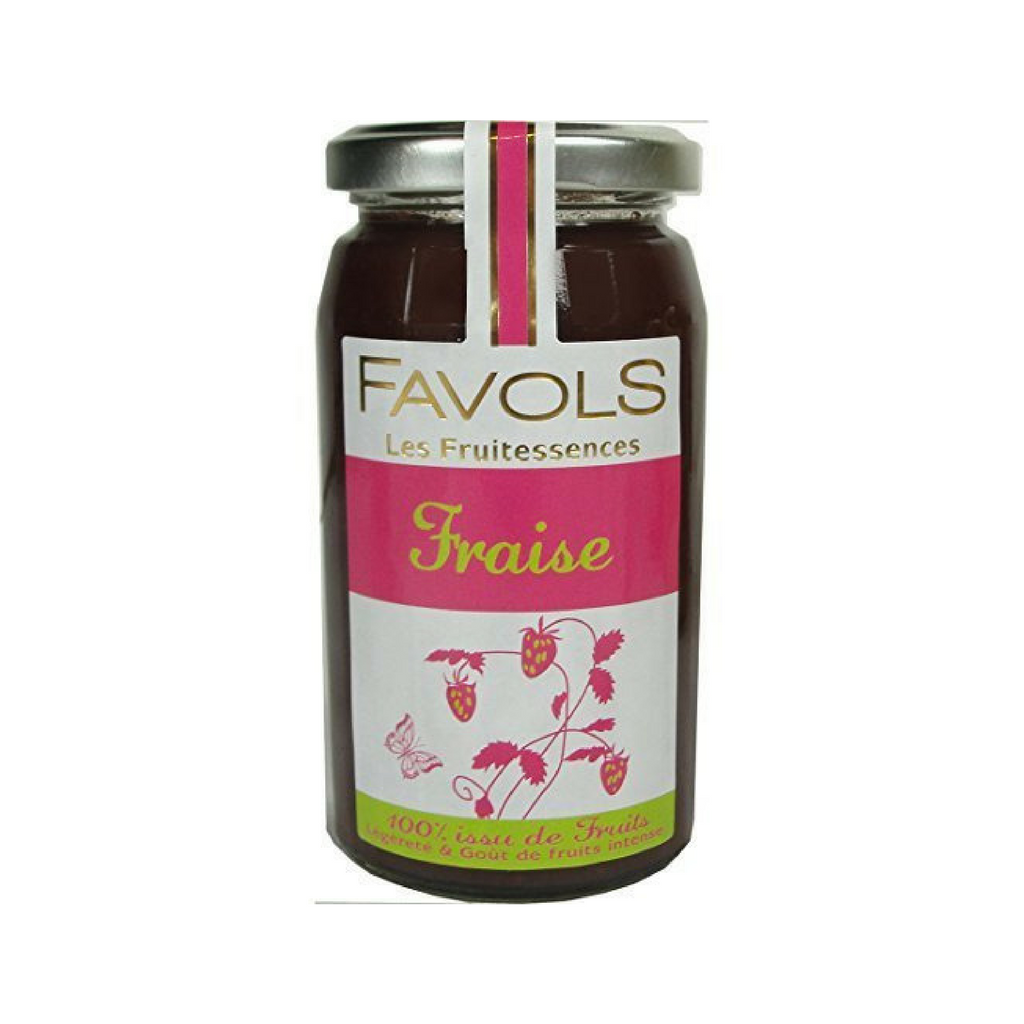 Strawberry Fruitessence Jam by Favols (No Sugar Added) 8.8 oz-Favols-Le Tablier Bleu | Online French Supermaket
