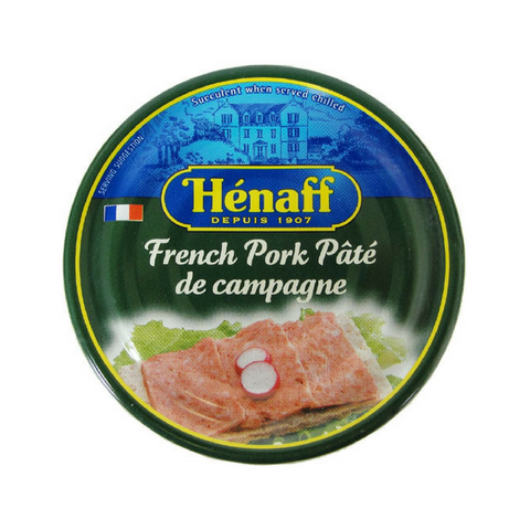 Authentic French Countryside Pate by Henaff 4.5 oz-Henaff-Le Tablier Bleu | Online French Supermaket