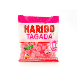 Haribo Tagada Pink Strawberry Gummy Candy 3.5 oz. (100g)-Haribo-Le Tablier Bleu | Online French Supermaket