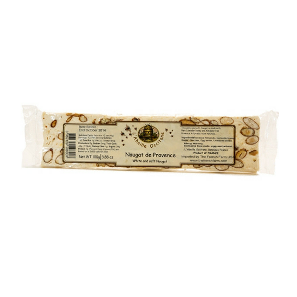 L'Abeille Occitane Lavender Honey Nougat Bar 3.5 oz (150g)-L'Abeille Occitane-Le Tablier Bleu | Online French Supermaket