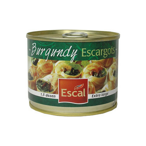 Escal French Burgundy Escargots Snails 1.5 Dozen 4.4 oz Best Price-Escal-Le Tablier Bleu | Online French Supermaket