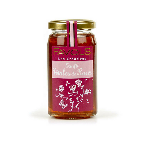French Rose Jam by Favols 9.5 oz-Favols-Le Tablier Bleu | Online French Supermaket