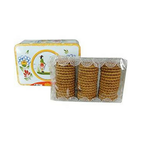 Ker Cadelac Galettes Butter Biscuits from Brittany Tin 11.5 oz. (325g)-Ker Cadelac-Le Tablier Bleu | Online French Supermaket