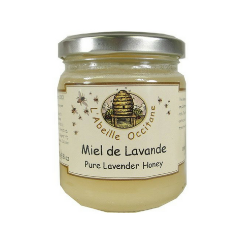 L'Abeille Pure Lavender Honey 8.8 oz. (250g)-L'Abeille Occitane-Le Tablier Bleu | Online French Supermaket