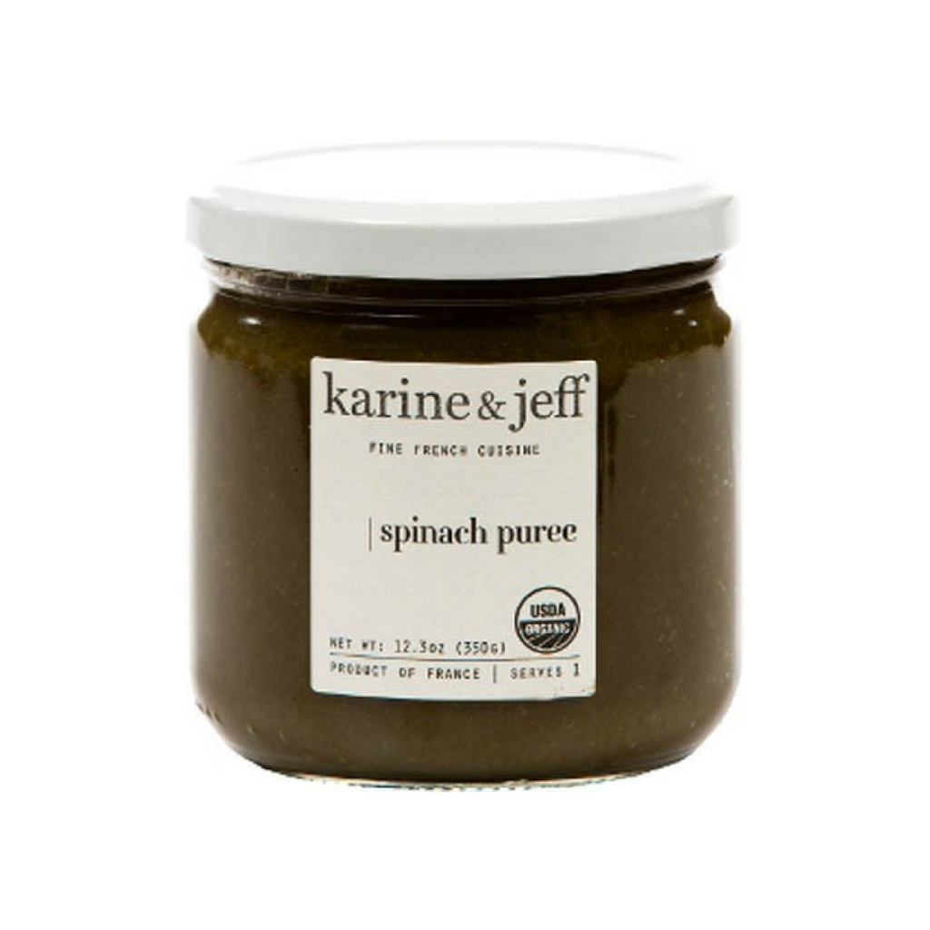 Karine & Jeff Organic French Spinach Puree 12.3 oz Best Price-Karine & Jeff-Le Tablier Bleu | Online French Supermaket