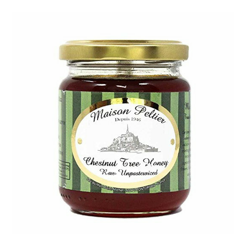 Maison Peltier French Chestnut Tree Honey 8.8 oz-Maison Peltier-Le Tablier Bleu | Online French Supermaket