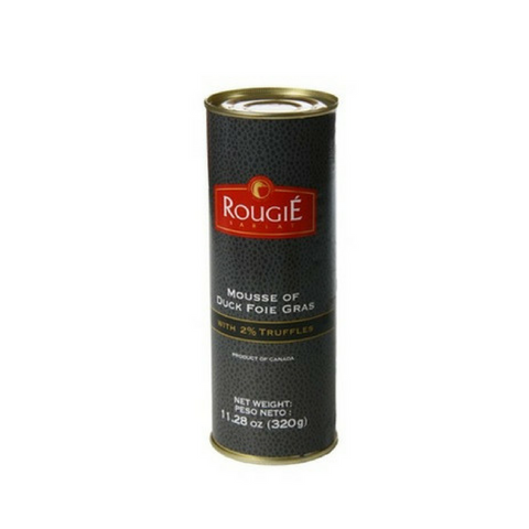 Duck Foie Gras Mousse with Truffles by Rougie 11.2 oz-Rougie-Le Tablier Bleu | Online French Supermaket