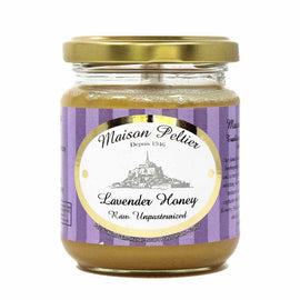 Manoir des Abeilles · Lavender honey, glass jar · 250g (8.8 oz)-FRENCH ÉPICERIE-Manoir des Abeilles-Le Tablier Bleu | Online French Supermaket