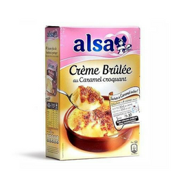 Alsa Mix for Crème Brulée - Makes 8-COOKING & BAKING-Alsa-Le Tablier Bleu | Online French Supermaket