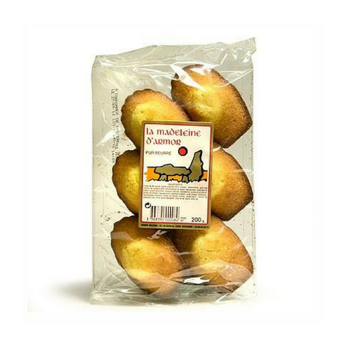 Armor Délices · Madeleines Made in France - pack of 6 · 200g (7 oz)-DESSERTS & SWEETS-Armor Delices-Le Tablier Bleu | Online French Supermaket