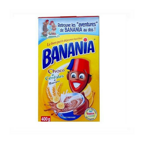 Banania · Chocolate breakfast mix · 400g (14.1 oz)-BEVERAGES-Banania-Le Tablier Bleu | Online French Supermaket
