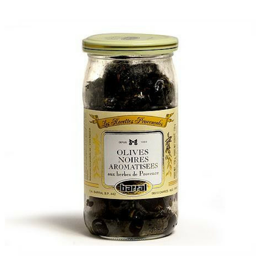 Barral French Black Olives with Provence Herbs-FRENCH ÉPICERIE-Barral-Le Tablier Bleu | Online French Supermaket