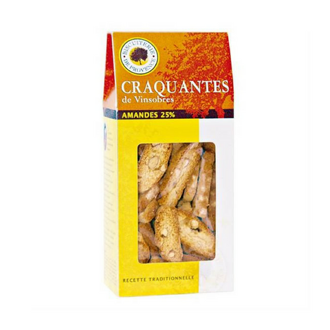 Biscuiterie de Provence Almond Biscotti from Vinsobres-DESSERTS & SWEETS-Biscuiterie de Provence-Le Tablier Bleu | Online French Supermaket