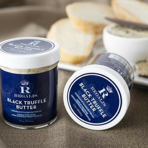 Black Truffle Butter - Regalis Food-FOIE GRAS & TRUFFLES-Regalis Food-Le Tablier Bleu | Online French Supermaket