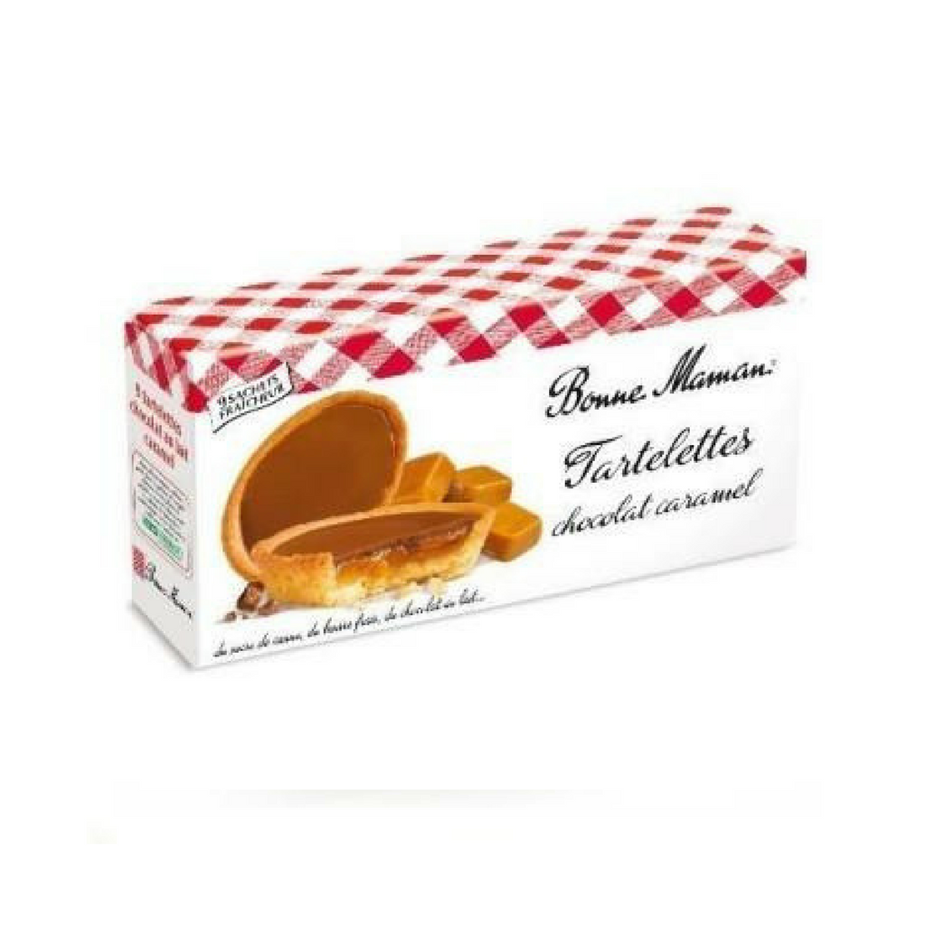 Bonne Maman · tartlet chocolate caramel · 135g (4.8 oz)-DESSERTS & SWEETS-Bonne Maman-Le Tablier Bleu | Online French Supermaket