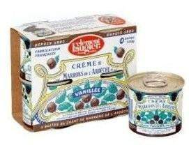 Clément Faugier · Chestnut jam, pack of 4 mini cans · 4x100g - Crème de Marrons-COOKING & BAKING-Clement Faugier-Le Tablier Bleu | Online French Supermaket