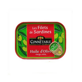 Connétable · Sardine fillets in Extra Virgin Olive Oil · 100g (3.5 oz)-FOIE GRAS & TRUFFLES-Connetable-Le Tablier Bleu | Online French Supermaket