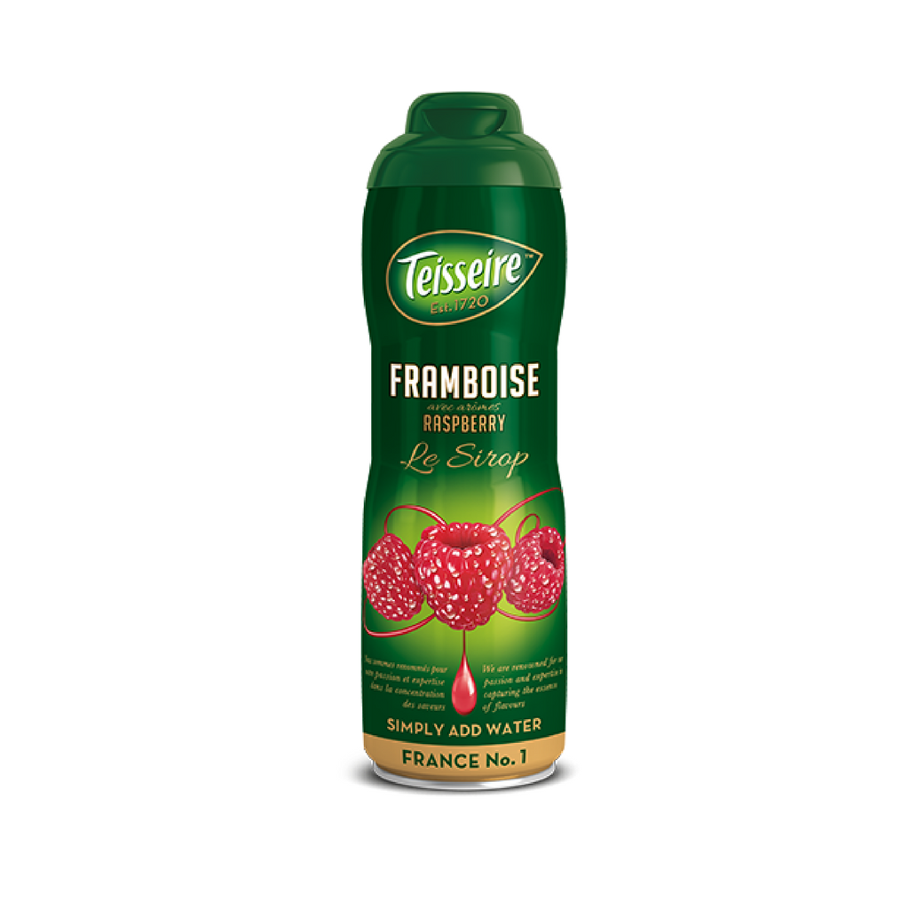 Teisseire French Raspberry Syrup (20 oz. x 6)-Teisseire-Le Tablier Bleu | Online French Supermaket