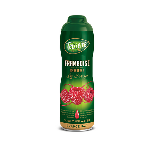 Teisseire · Raspberry syrup · 60cl (20.3 fl oz)-BEVERAGES-Teisseire-Le Tablier Bleu | Online French Supermaket