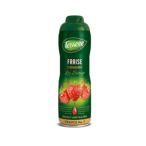 Teisseire French Strawberry Syrup 20 oz-Teisseire-Le Tablier Bleu | Online French Supermaket