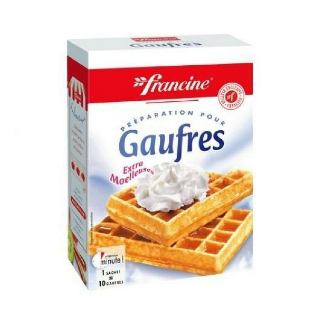 Francine French Gaufres - French Waffle Mix:-COOKING & BAKING-Francine-Le Tablier Bleu | Online French Supermaket