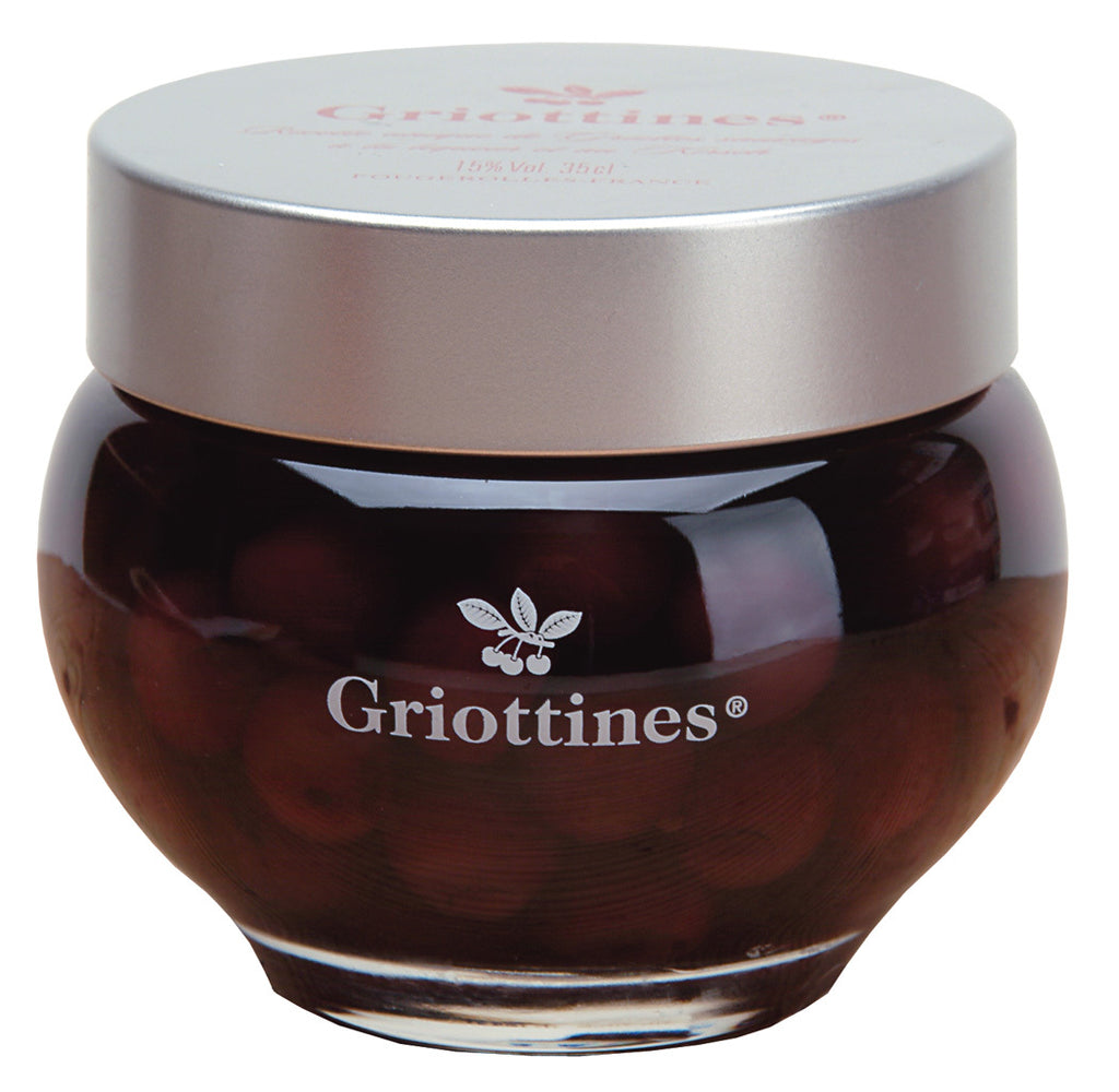 Griottines Morello Cherries in Kirsch in Gift Box 11.8 fl. oz. (35cl) Best Price
