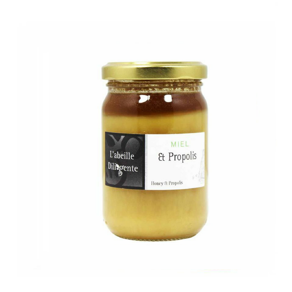 Honey with Propolis by L'Abeille Diligente 8.8 oz-L'Abeille Diligente-Le Tablier Bleu | Online French Supermaket