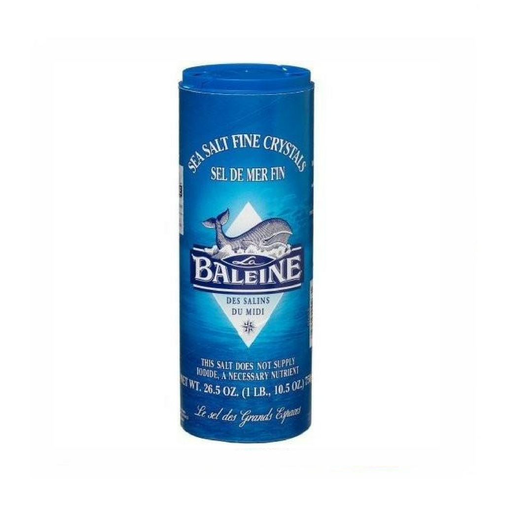 La Baleine · Fine sea salt · 750g (26.5 oz)-COOKING & BAKING-La Baleine-Le Tablier Bleu | Online French Supermaket
