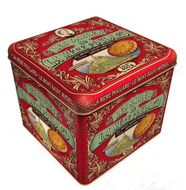 La Mere Poulard Sables - Collector Tin - 500g-DESSERTS & SWEETS-La Mere Poulard-Le Tablier Bleu | Online French Supermaket