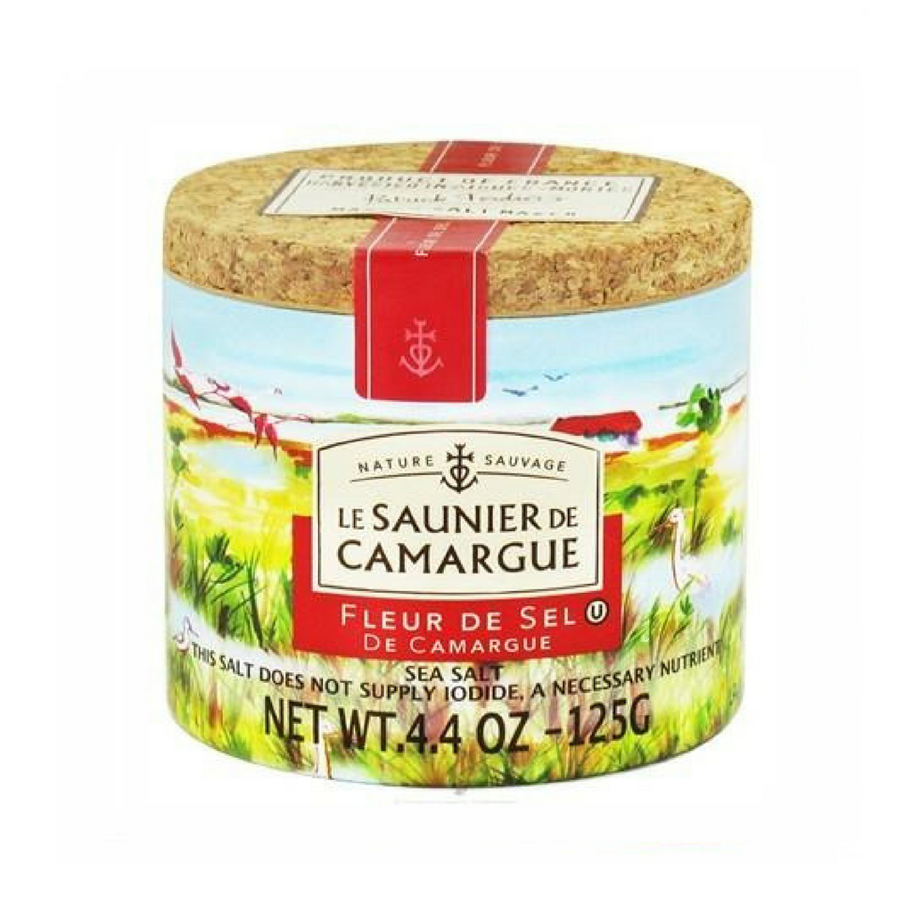 Le Saunier French Salt Fleur de sel de Camargue · 125g (4.4 oz)-COOKING & BAKING-Le Saunier-Le Tablier Bleu | Online French Supermaket