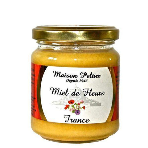 Manoir des Abeilles · All-Flower Honey - Miel de Fleurs · 250g (8.8 oz)-FRENCH ÉPICERIE-Manoir des Abeilles-Le Tablier Bleu | Online French Supermaket
