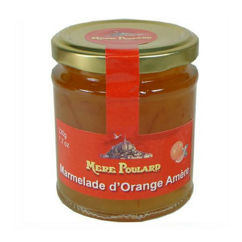 Mere Poulard French Orange Jam Preserves 7.8 oz-FRENCH ÉPICERIE-La Mere Poulard-Le Tablier Bleu | Online French Supermaket