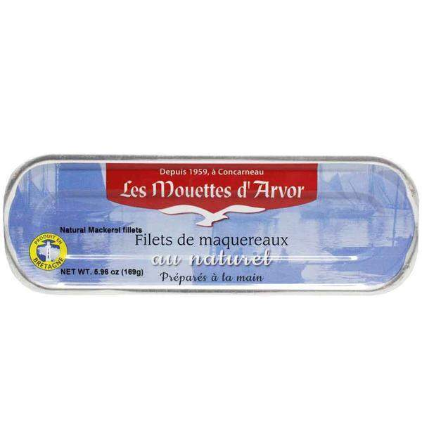 Mouettes d'Arvor French Mackerel Fillets 5.9 oz-Mouettes d'Arvor-Le Tablier Bleu | Online French Supermaket