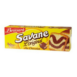 Brossard Classic Savane Chocolate Marble Cake 10.5 oz. (300g)-Brossard-Le Tablier Bleu | Online French Supermaket