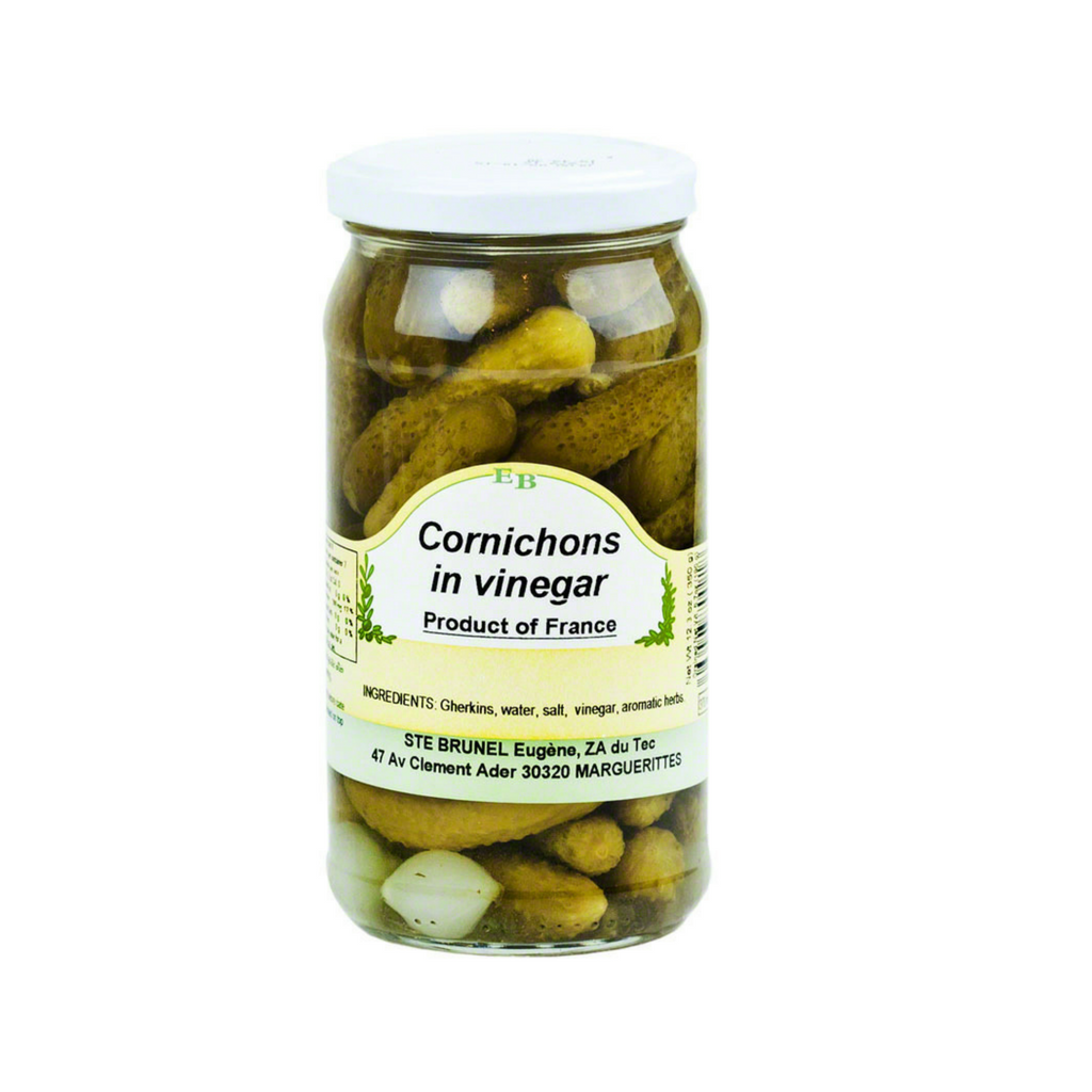 Cornichons Gherkins Pickles In Vinegar by Brunel 6.7 oz-Brunel-Le Tablier Bleu | Online French Supermaket