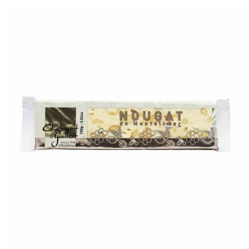 Authentic French Nougat Bar by Chabert Guillot 3.5 oz Best Price-Chabert Guillot-Le Tablier Bleu | Online French Supermaket