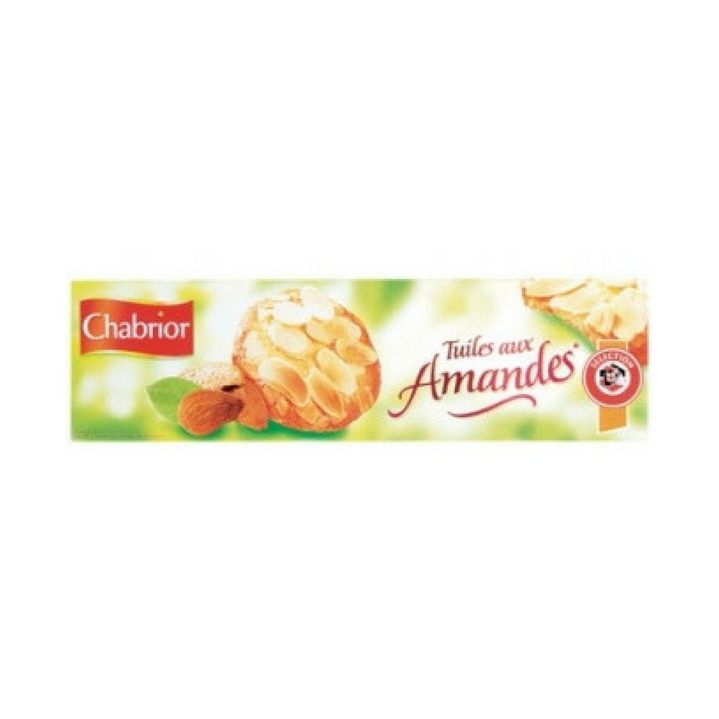 Chabrior Tuiles French Almond Cookies 3.5 oz. (100g) Best Price-Chabrior-Le Tablier Bleu | Online French Supermaket