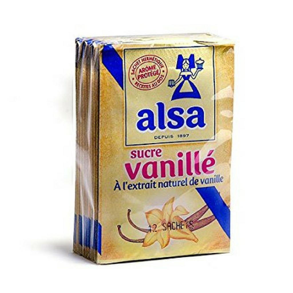 Alsa French Vanilla Sugar 12 Pouches Best Price-Alsa-Le Tablier Bleu | Online French Supermaket