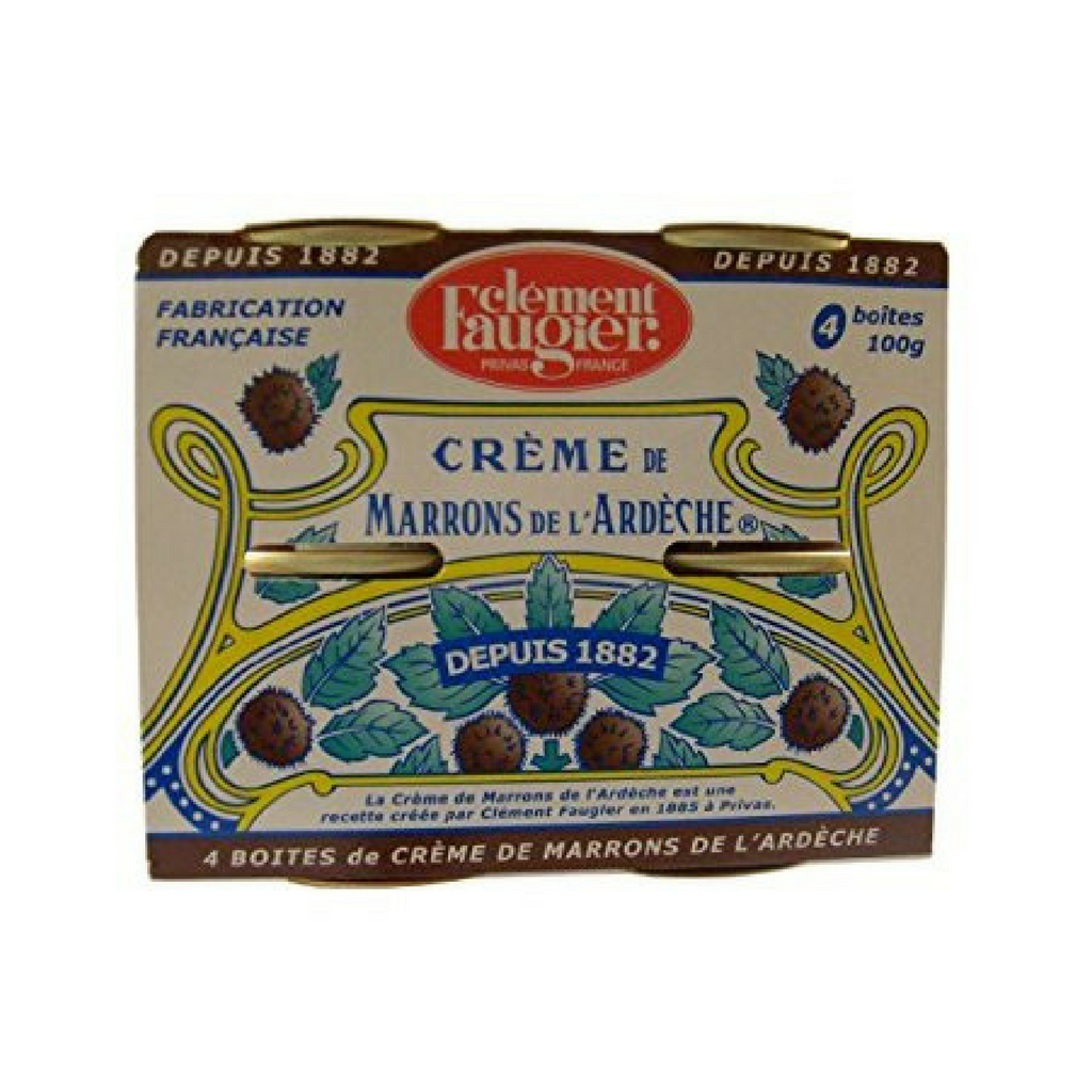 Clement Faugier Chestnut Spread Puree de Marrons 4 Pack-Clement Faugier-Le Tablier Bleu | Online French Supermaket