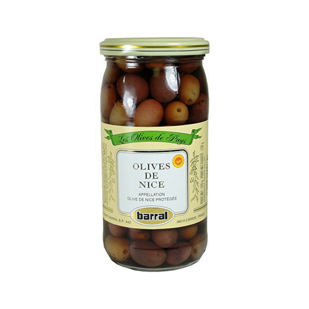 Barral Nicoise Olives de Nice 8.1 oz. (229g)-Barral-Le Tablier Bleu | Online French Supermaket
