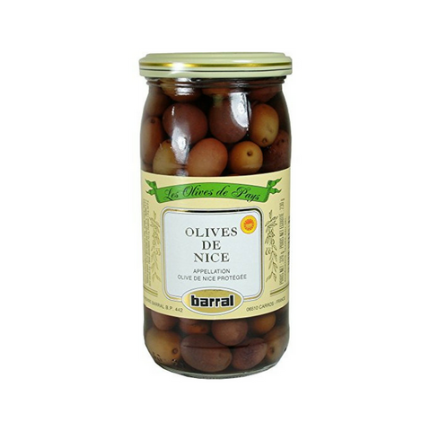 Barral Nicoise Olives de Nice 8.1 oz. (229g) Best Price-Barral-Le Tablier Bleu | Online French Supermaket