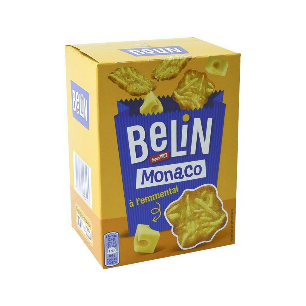 Belin Monaco French Cheese Crackers 3.5 oz. (100g)-Belin-Le Tablier Bleu | Online French Supermaket