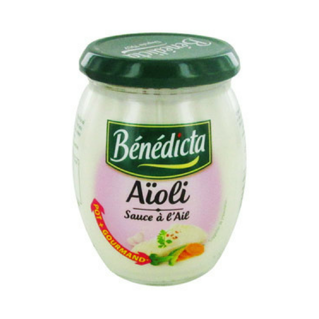 Benedicta Aioli Garlic Sauce 9.1 oz. (260g)-Benedicta-Le Tablier Bleu | Online French Supermaket