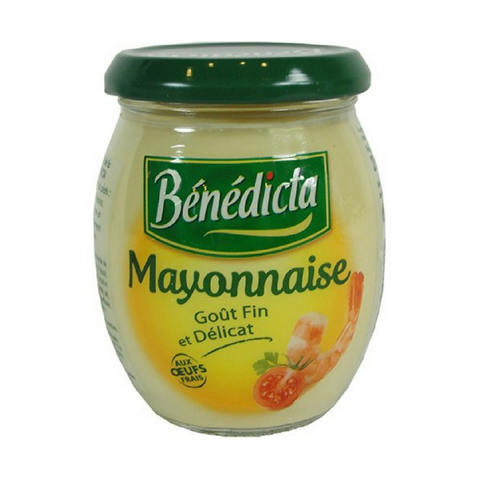 Benedicta French Mayonnaise 8.9 oz. (255g)-Benedicta-Le Tablier Bleu | Online French Supermaket