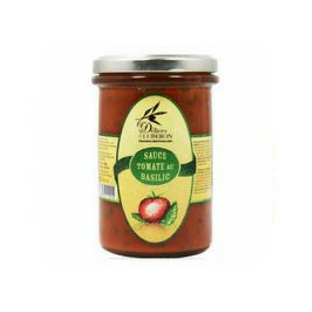 Delices du Luberon Tomato Sauce with Basil from Provence 9.8 oz-Delices du Luberon-Le Tablier Bleu | Online French Supermaket
