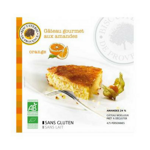 Biscuiterie de Provence Organic Gluten Free Almond Orange Cake 7.9oz-Biscuiterie de Provence-Le Tablier Bleu | Online French Supermaket
