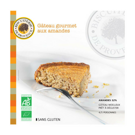 Biscuiterie de Provence Organic Gluten Free Almond Cake 7.9oz-Biscuiterie de Provence-Le Tablier Bleu | Online French Supermaket